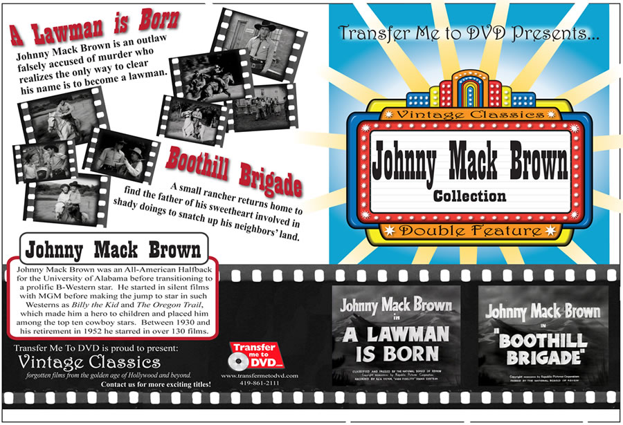 Johnny Mack Brown Double Feature