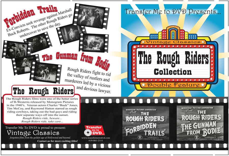 The Rough Riders Double Feature